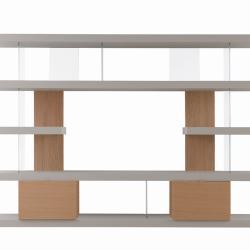 Libreria F2/ Zi Line con contenitori