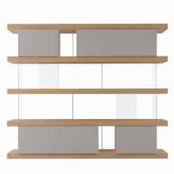 Libreria F. Line 2400 con contenitori